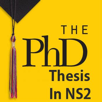 Phd dissertation pages